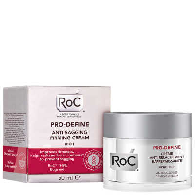 Roc Pro-Define Anti-Sagging Firming Cream Rich - Creme Facial Firmador 50ml