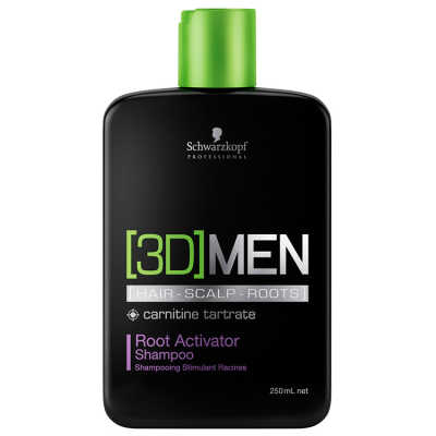 Schwarzkopf Professional 3D Men Root Activator - Shampoo 250ml