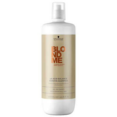 Schwarzkopf Professional Blondme pH Acid Balance Keratin All Blondes - Shampoo 1000ml