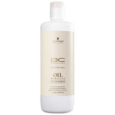 Schwarzkopf Professional BC Bonacure Oil Miracle Light - Shampoo 1000ml