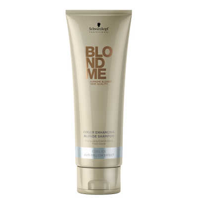 Schwarzkopf Professional Blondme Color Enhancing Blonde Anti-Yellow Effect - Shampoo 250ml