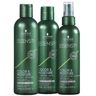 Schwarzkopf Professional Essensity Color & Moisture Spray Kit (3 Produtos)
