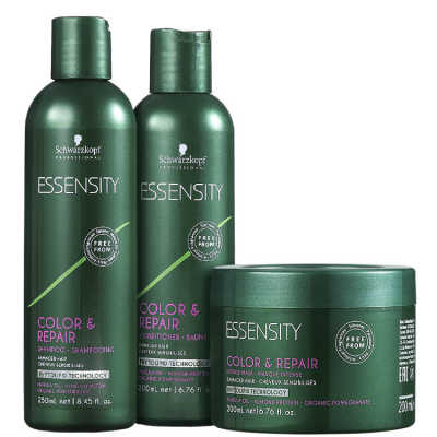 Schwarzkopf Professional Essensity Color & Repair Trio Kit (3 Produtos)