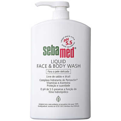 Sebamed Liquid Face & Body Wash - Sabonete Líquido 1000ml