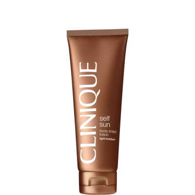Clinique Self Sun Body Daily Mosturizer Light/Medium - Autobronzeador 125ml
