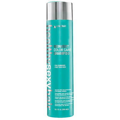 Sexy Hair Healthy Reinvent Color Care Fine Thin - Shampoo 300ml