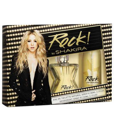 Shakira Conjunto Feminino Rock! - Eau de Toilette 80ml + Desodorante 150ml