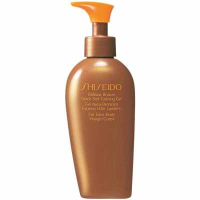 Shiseido Brilliant Bronze Quick Self - Tanning Gel - Autobronzeador 150ml