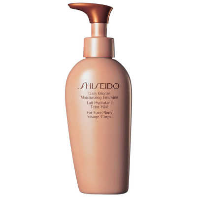 Shiseido Daily Bronze Moisturizing Emulsion - Autobronzeador 150ml