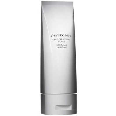 Shiseido Men Deep Cleansing Scrub - Tratamento Esfoliante 125ml