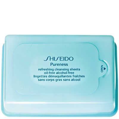 Shiseido Pureness Refreshing Cleansing Sheets - Lenços de Limpeza 30 Unidades