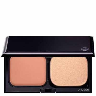 Shiseido Sheer Matifying Compact Fps 10 I60 Deep Ivory - Base Compacta Refil 9,8g