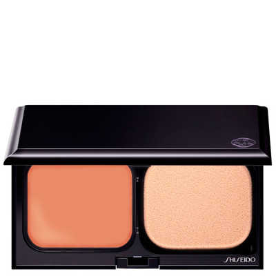 Shiseido Sheer Matifying Compact Fps 10 WB60 Natural Deep Warm Beige - Base Compacta Refil 9,8g