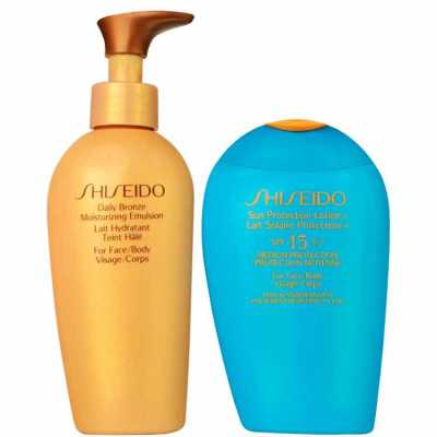 Shiseido Sun Care Bronze Kit (2 Produtos)
