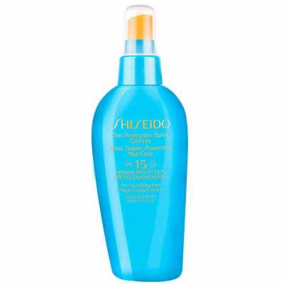 Shiseido Sun Protection Spray Oil Free Spf 15 - Protetor Solar Spray