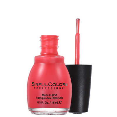 SinfulColors Professional Energetic Red - Esmalte 15ml