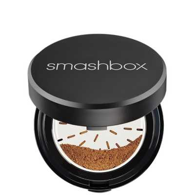 Smashbox Halo Hydrating Perfecting Powder Medium/Dark - Pó Compacto 15g