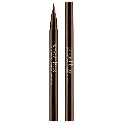 Smashbox Limitless Waterproof Liquid Liner Pen Dark Brown - Caneta Delineadora 0,6g