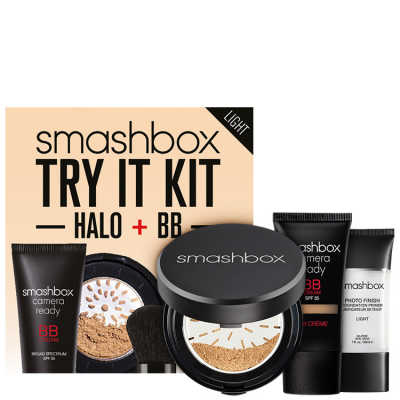 Smashbox Try It Kit: BB + Halo Light - Make Up Kit (3 Produtos)