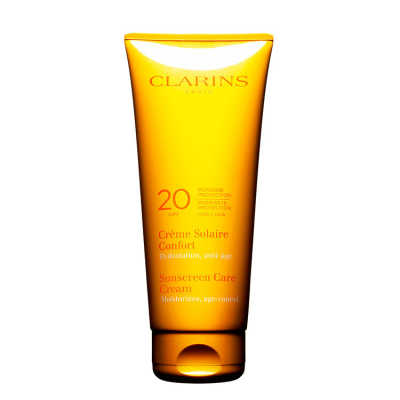 Clarins Sunscreen Care Cream Spf 20 - Protetor Solar 200ml