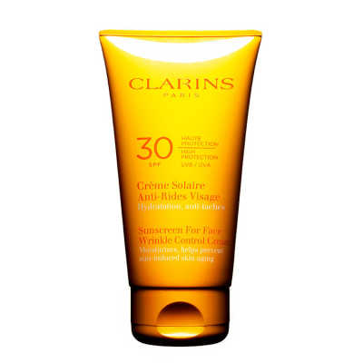 Clarins Sunscreen for Face Wrinkle Control Cream Spf 30 - Protetor Solar Antirrugas 75ml