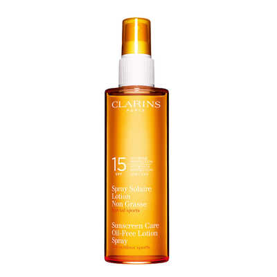 Clarins Sunscreen Sun Care Oil-Free Lotion Spray Fps 15 - Protetor Solar 150ml