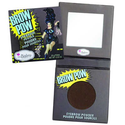 the Balm Brow Pow Eyebrow Powder Dark Brown - Sombra para Sobrancelha 0,85g