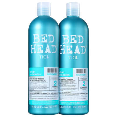TIGI Bed Head Urban Anti+Dotes #2 Recovery Duo Salon Kit (2 Produtos)