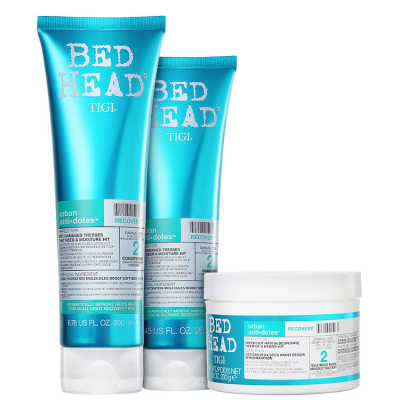 TIGI Bed Head Urban Anti+Dotes #2 Recovery Trio Kit (3 Produtos)