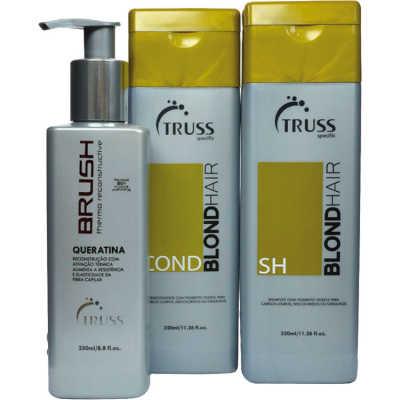 Truss Specific Blonde Hair Keratin Kit