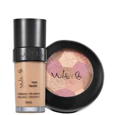 Vult Make Up 02 Rosa Mosaico Kit (2 Produtos)
