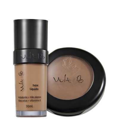 Vult Make Up 06 Marrom Duo Kit (2 Produtos)