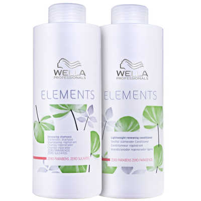 Wella Professionals Elements Renewing Salon Kit (2 Produtos)