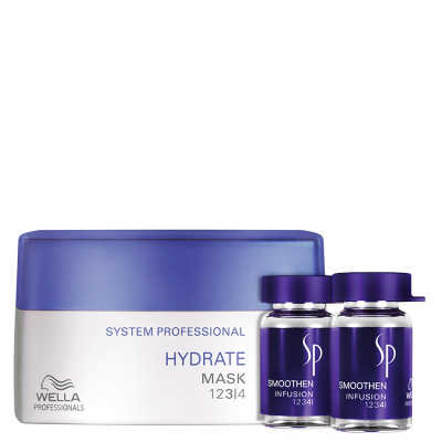 SP System Professional Hydrate Smoothen Kit (2 Produtos)
