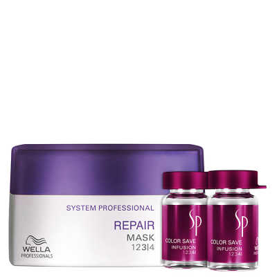 SP System Professional Repair Color Kit (3 Produtos)