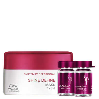 SP System Professional Shine Color Kit (2 Produtos)
