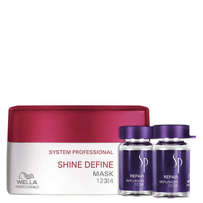 SP System Professional Shine Repair Kit (2 Produtos)