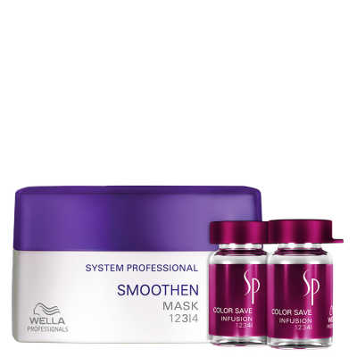 SP System Professional Smoothen Color Kit (2 Produtos)