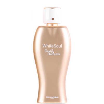 Ted Lapidus White Soul Gold & Diamonds Perfume Feminino - Eau de Parfum 100ml