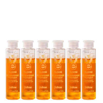 Yellow Bloom Argan Intensive Treatment - Ampola de Tratamento 6x13ml