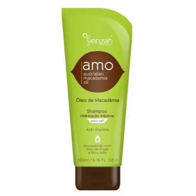Yenzah Amo Australian Macadamia Oil - Shampoo 200ml