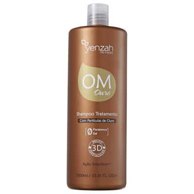 Yenzah OM Ouro Shampoo Tratamento Profissional - Shampoo 1000ml