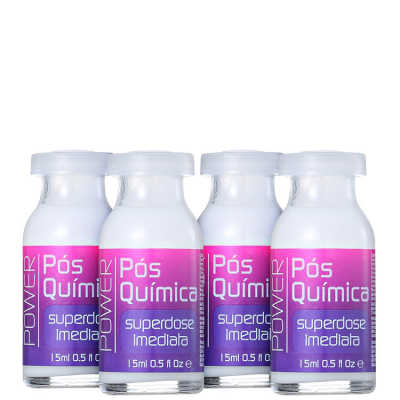 Yenzah Power Pós-Química - Ampola 4x15ml