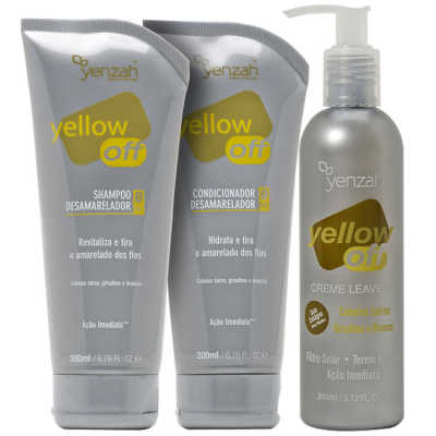 Yenzah Yellow Off Trio Kit (3 Produtos)