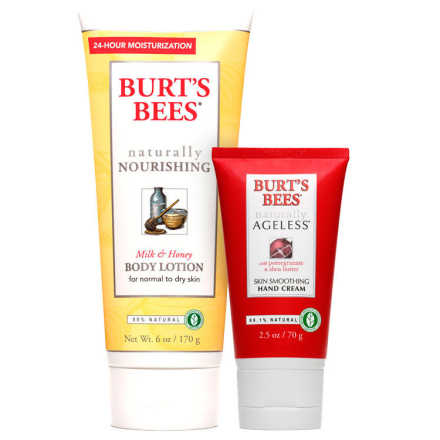 Burt's Bees Milk & Honey Ageless Skin Kit (2 Produtos)