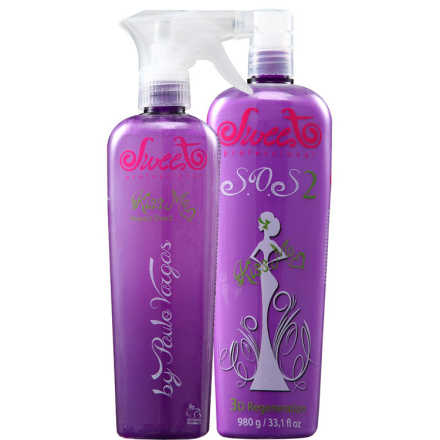 Sweet Hair Kiss Me Sos Kit (2 Produtos)