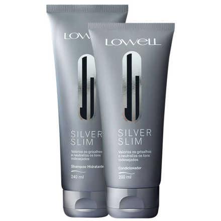 Lowell Silver Slim Duo Kit (2 Produtos)