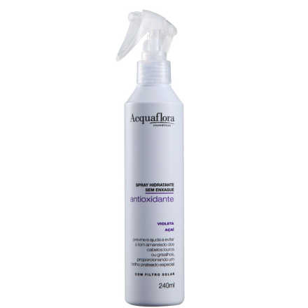 Acquaflora Antioxidante Spray Hidratante Sem Enxágue - Leave-In 240ml