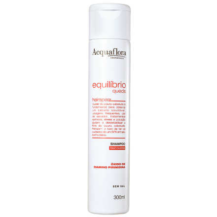 Acquaflora Equilíbrio Queda Raiz Oleosa - Shampoo 300ml