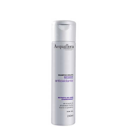 Acquaflora Violeta Antioxidante Matizador - Shampoo 240ml